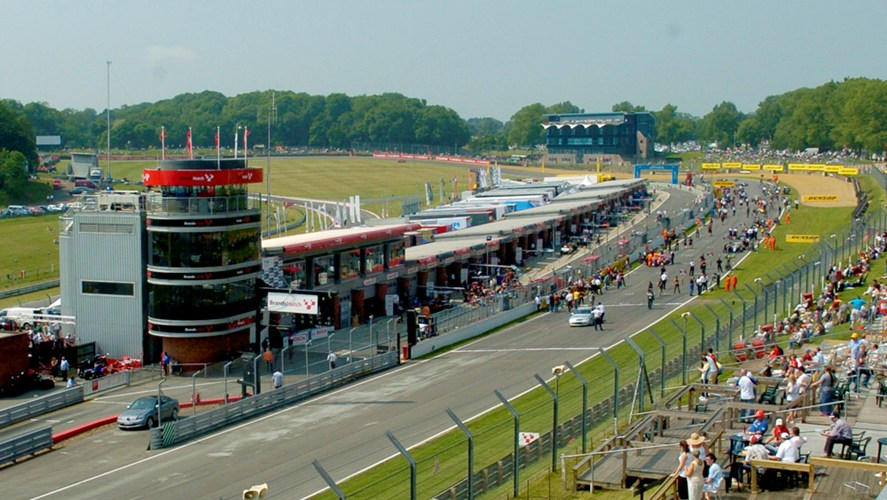 Control tower & pit garages