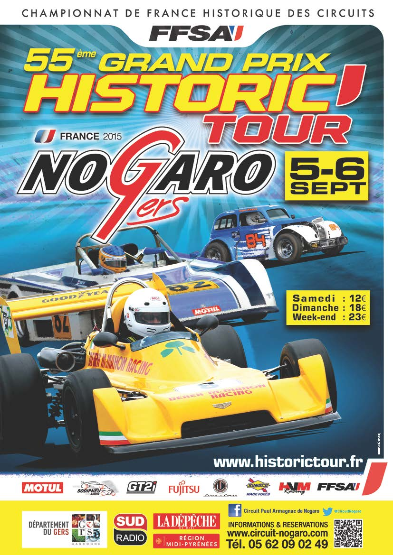 Affiche HT Nogaro 2015