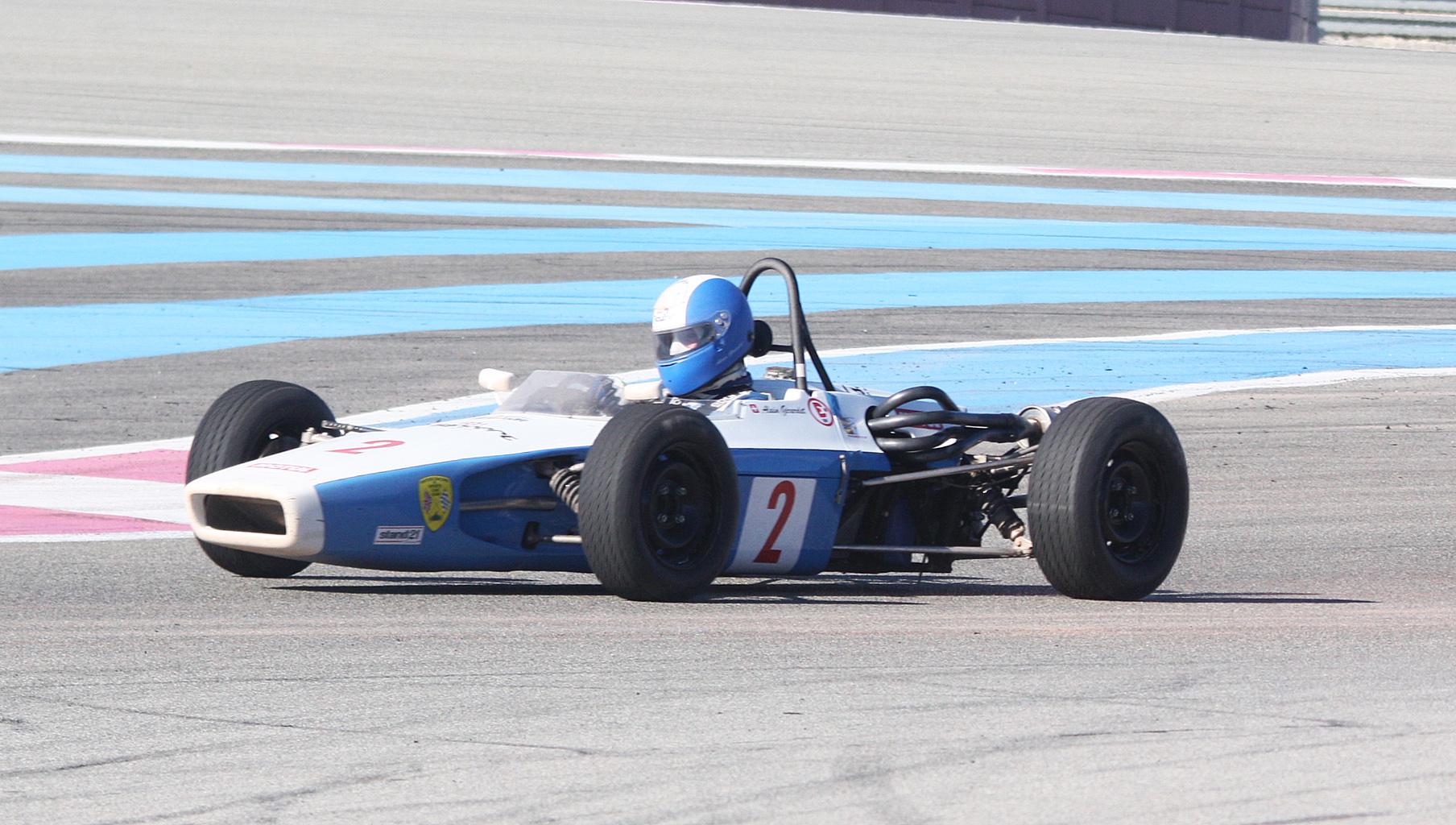 Alain Girardet - Lola T 200