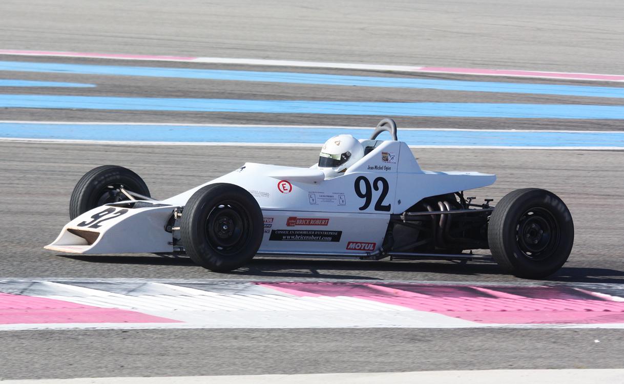 Jean Michel Ogier - Van Diemen RF 80