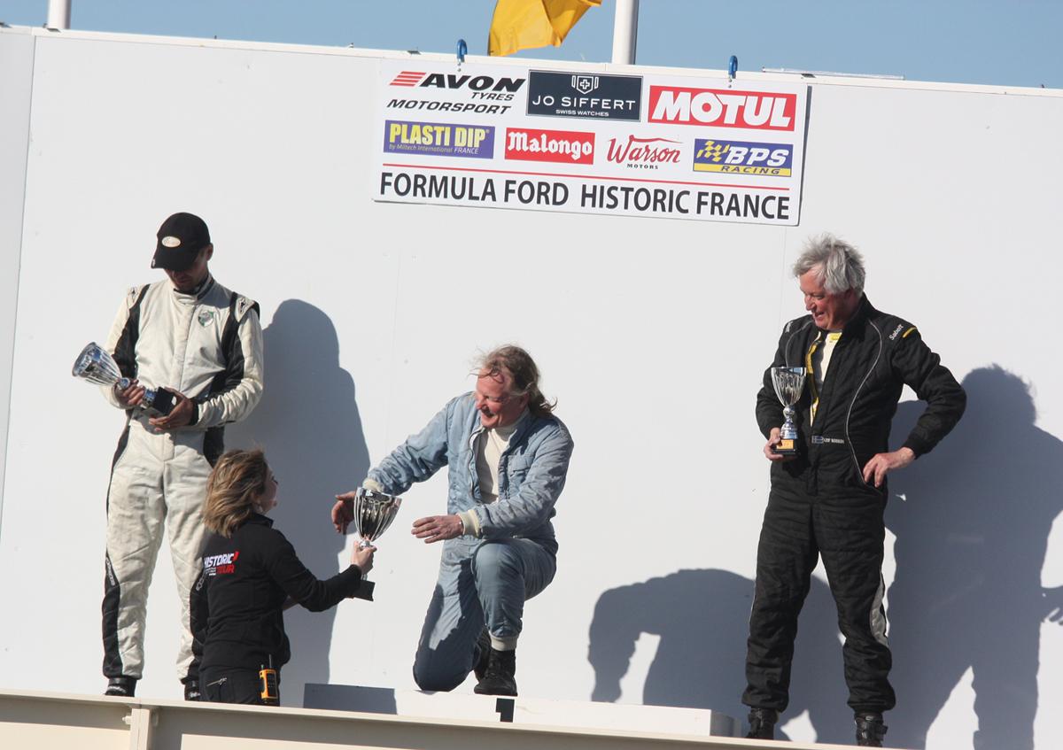 F3 1000 cc : Christoph Widmer (2nd) - Roland Fischer (1er) - Leif Bosson (3ème)