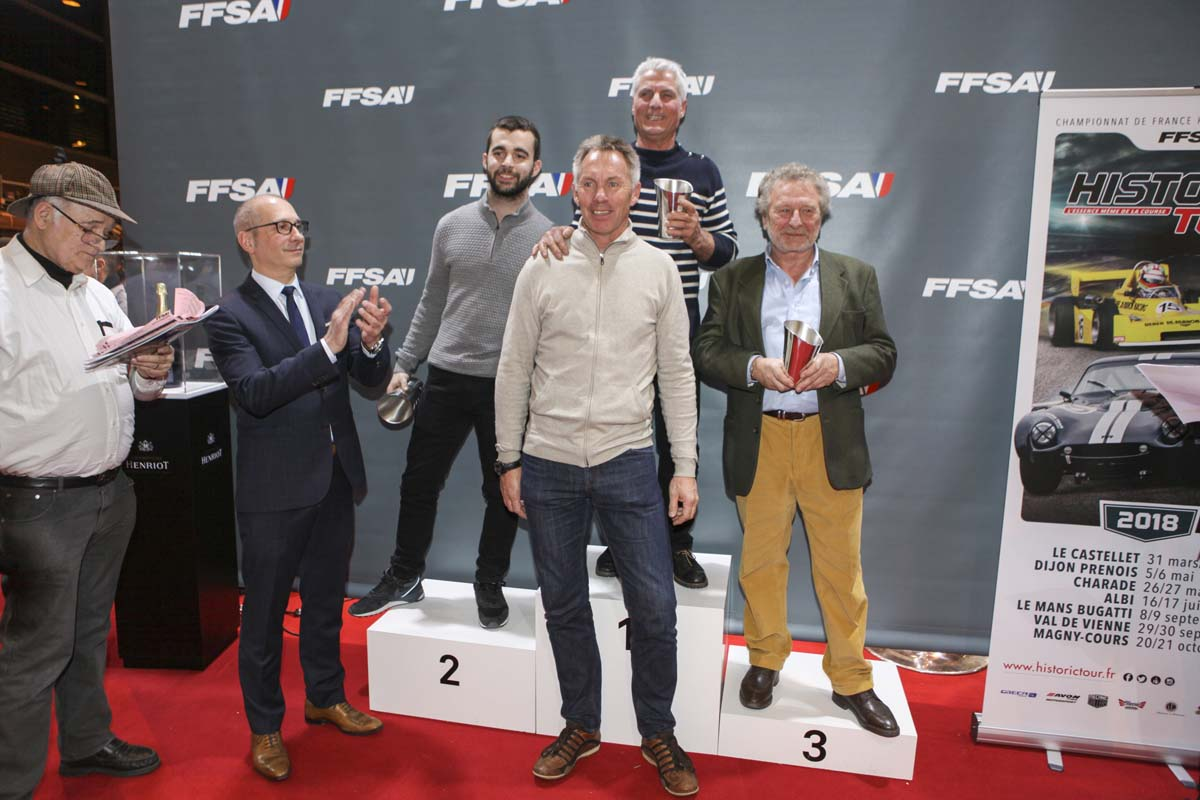 Remise des Prix podium GR2