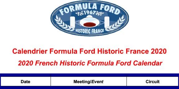 Calendrier Magny Cours 2020.Action Racing Courir En Formule Ford Historique